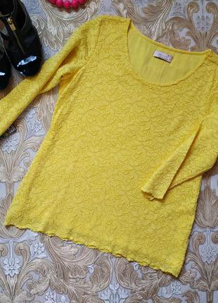 Яркая блуза. на бирке- 14 р-р(48)