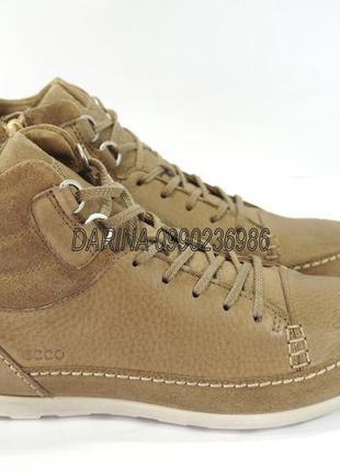 Ботинки ecco cayla 239533. оригинал. кожа.