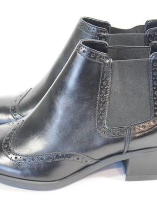 Ботинки - чесли clarks. оригинал. кожа.