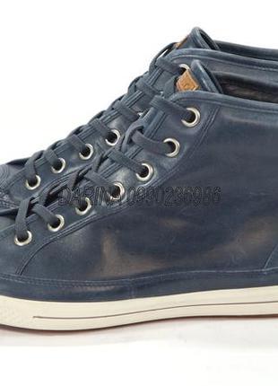 Высокие кеды, ботинки ecco zone. оригинал. кожа.