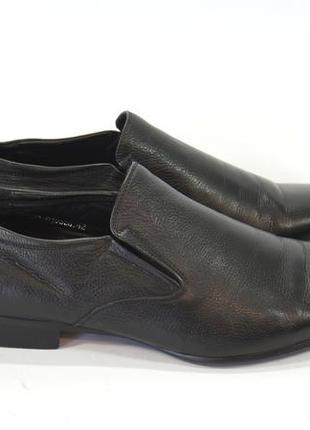 Кожаные, фирменные туфли respect.