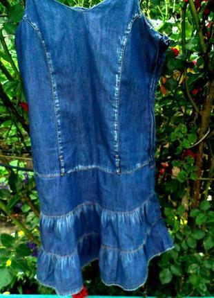 Сарафан джинсовый легкий
