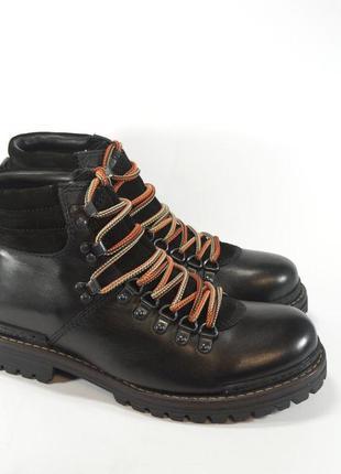 Ботинки s&g boots and shoes. кожа. зима. европа.