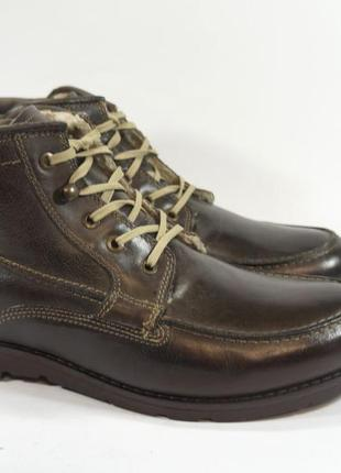 Ботинки s&g boots and shoes. кожа