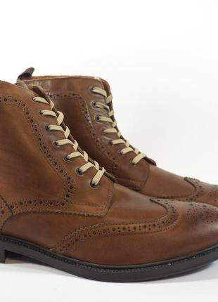 Ботинки stafford. оригинал. кожа. англия