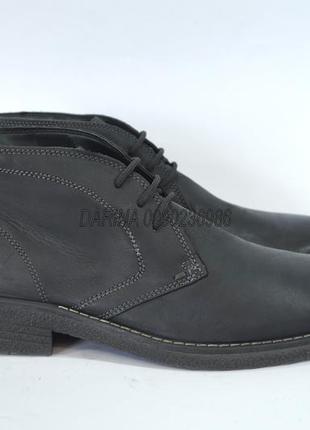 Ботинки. кожа. оригинал. италия.