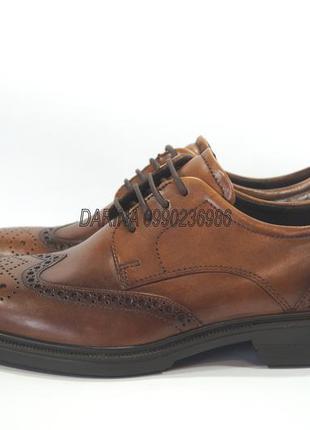 Кожаные туфли броги ecco lisbon оригинал. 39,39 р.
