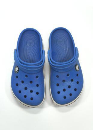 Шлепки  crocs crocbandi.