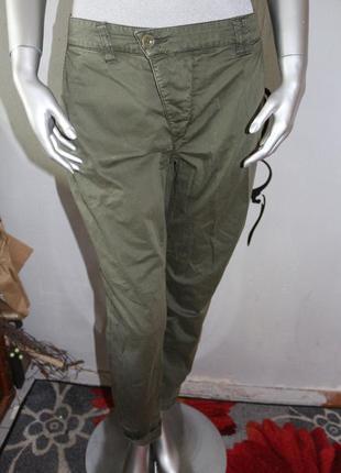 Штаны брюки хаки италия