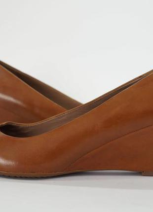 Туфли ecco royan. оригинал. кожа.