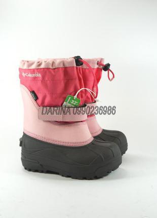 Сапоги columbia toddler powderbug plusii waterproof. оригинал.