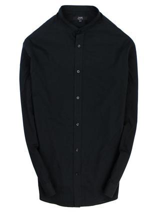 Рубашка с воротником стойкой