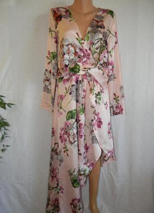 Новое стильное платье под шелк