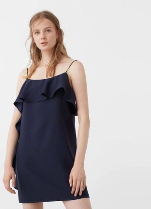 Синие платье mango