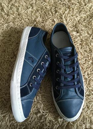Туфли geox кожаные на шнурках