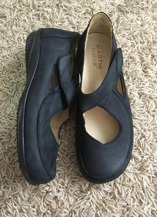 Туфли кожаные martin natur