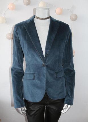 Велюровый бархатный пиджак mexx