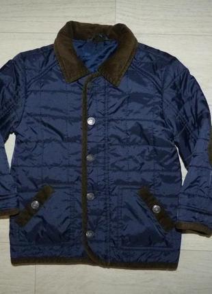 Демисезонная стеганная куртка george 1,6-2 года