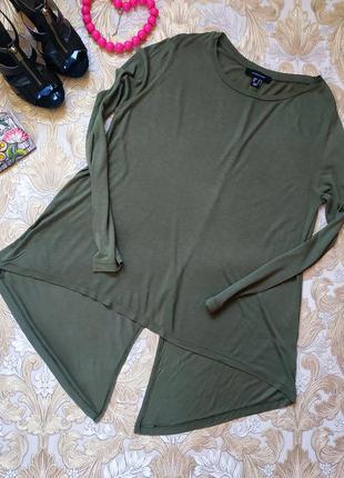 Хорошенькая блуза. на бирке- 10 р-р (44-46)