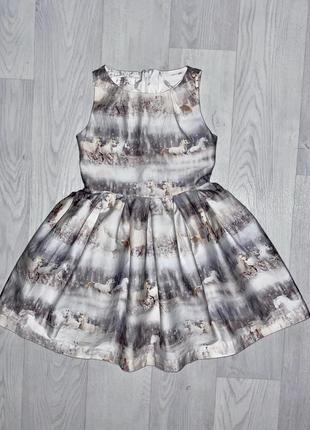 Пышное платье одежда девочка 6 лет