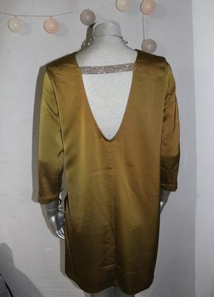 Хаки платье h&m