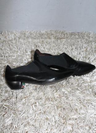 Кожаные туфли италия leder asper