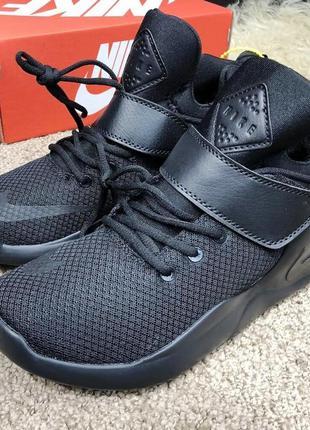 Кроссовки в стиле nike kwazi black