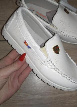 Мокасины туфли на мальчика школьные школа