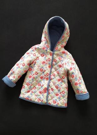 Легкая курточка в цветочек