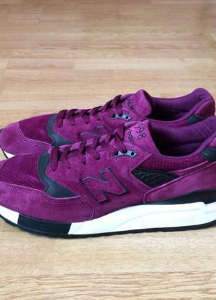 Замшевые кроссовки new balance оригинал 44,5 размера в состоян...