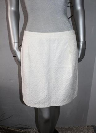 Белая юбка tommy hilfiger