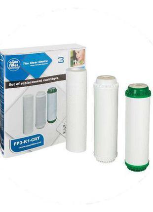 Фильтры для воды Aquafilter, комплект для 3-х ступенчатого фил...