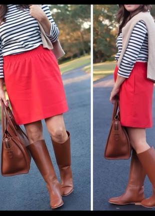 Красная юбка tommy hilfiger