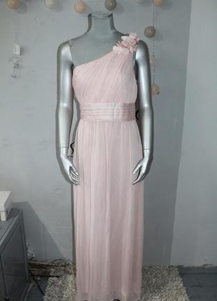 Длинное нарядное платье h&m