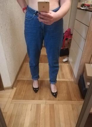 Джинсы момы терранова mom jeans terranova (рпзмер l/44)