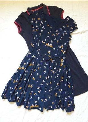 Платье с милым принтом
