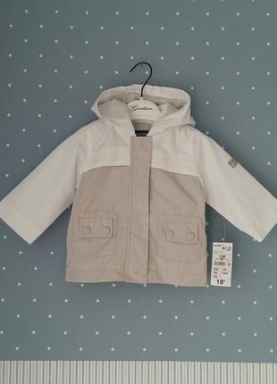 Ветровка/легкая демисезонная курточка kiabi (франция) на 9-12 ...