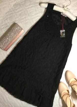 Платье с воланами be beau 10 размер