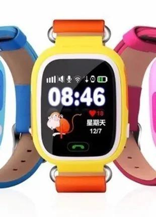 Детские смарт часы Q90 GSM, sim, Sos,Tracker Finder Smart Watch