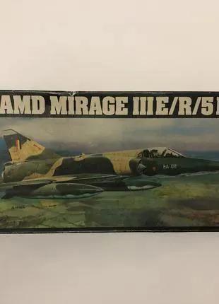Модель самолёта AMD Mirage III E/R/5BA 1:72 HELLER