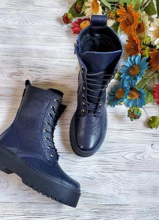 🔥 распродажа!!! ботинки зимние кожаные