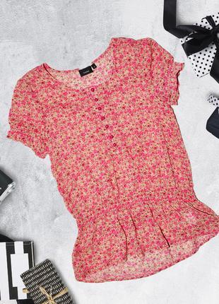 Полупрозрачная блуза футболка fransa