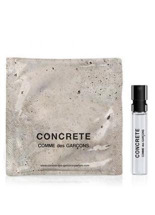 CONCRETE COMME des GARCONS пробник 1,5 мл
