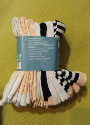 Носки набор хлопковых носков 7 пар набір бавовняних носків pep...