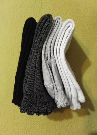 Носки набор хлопковых носков 4 пар набір бавовняних носків pep...
