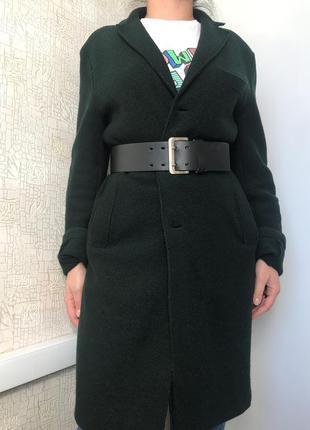 Демисезонное шерстяное пальто harris wharf london