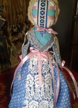 кукла-мотанка ручная работа-сувенир подарок оберег