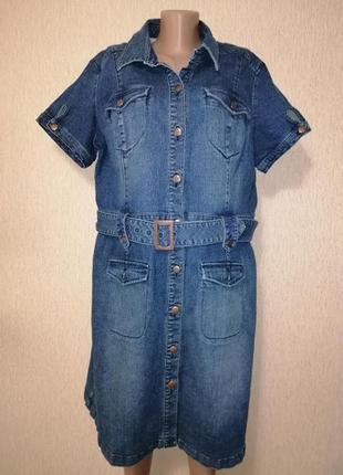 🔥🔥🔥красивое, стильное женское джинсовое платье, сарафан 20 р. ...