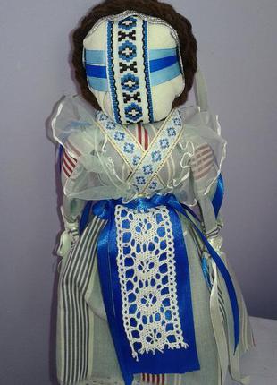 Стильная текстильная кукла ручной работы в интерьер бохо этно ...