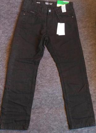 Классические чёрные джинсы 100% хлопок